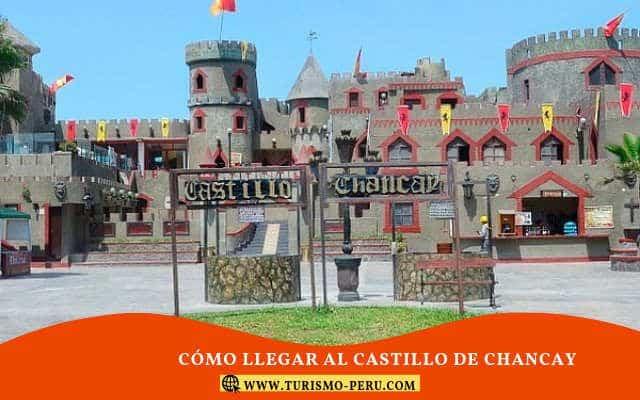 cual es el precio al castillo de chancay