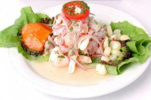 ceviche plato tipico de chiclayo