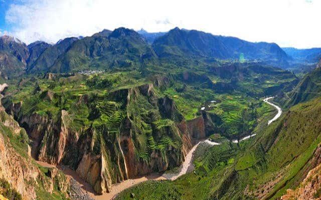 lugares turisticos en el valle del colca