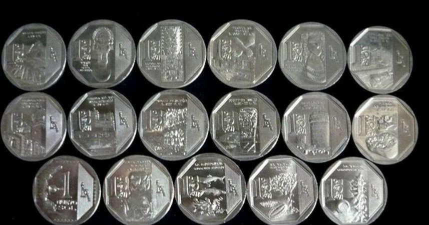 coleccion de la moneda un nuevo sol peruano