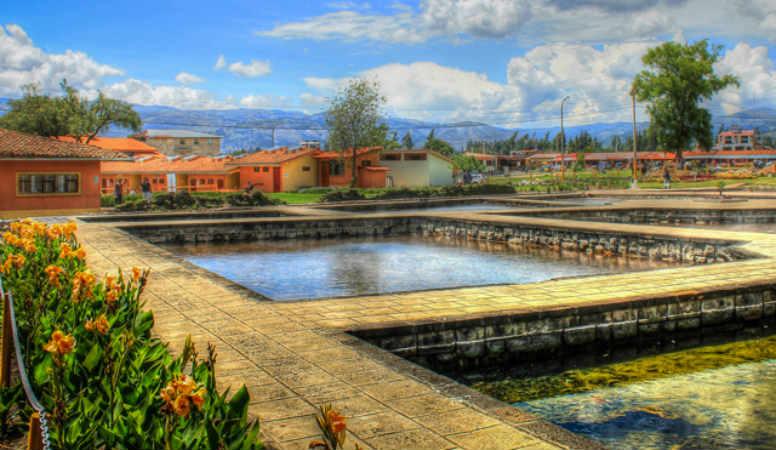 Baños del inca cajamarca peru