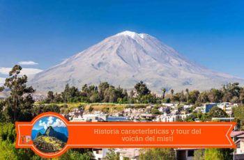caracteristicas del volcan misti