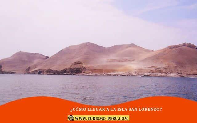 como llegar a islas san lorenzo