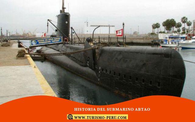 historia del submarino abtao