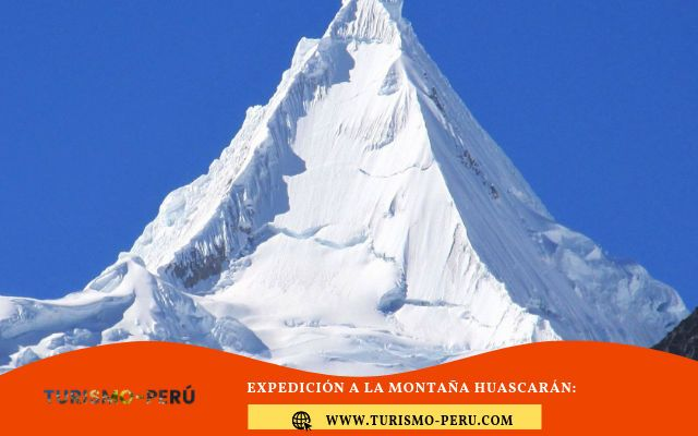montaña huascaran peru