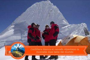 turismo en el nevado alpamayo ancash peru
