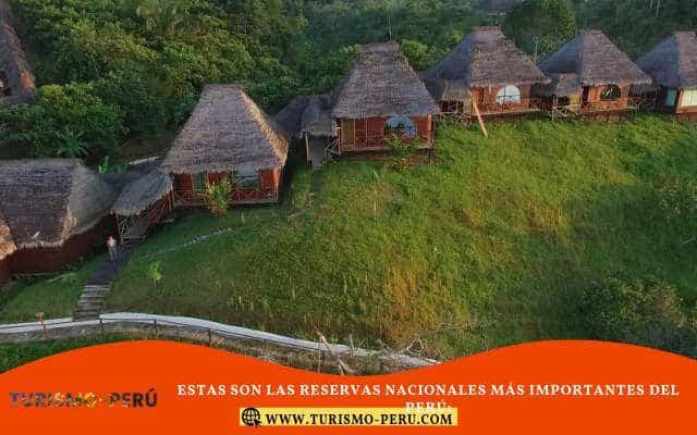 reservas nacionales protegidas en peru