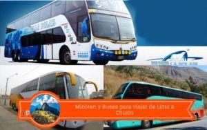 buses a churin desde lima