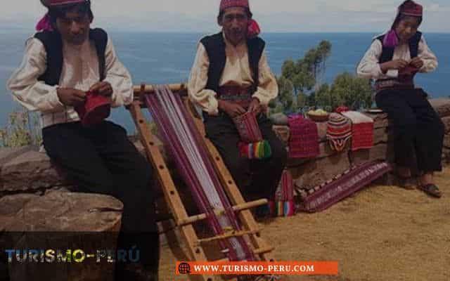 costumbres de textil
