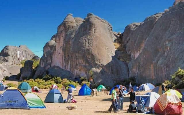 lugares para acampar en peru