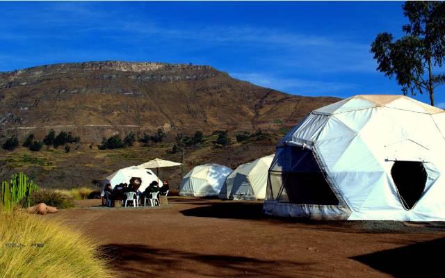 Pariacaca Camp huarochiri campamento