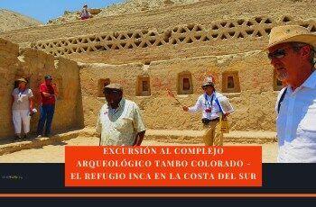 complejo arqueologico tambo colorado pisco Perú