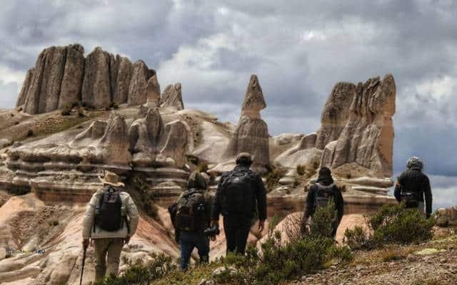 Bosque de piedras de Choqolaqa arequipa peru