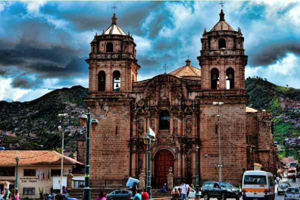 iglesia de San Pedro de Cusco
